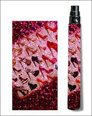 Battery Sticker Skins eGo/Vision/Itaste Clk/Other Cover Vinyl Vapor Wraps -HEELS