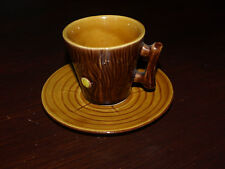 VALLAURIS A FERLAY ESPRESSO  CUP AND SAUCER.
