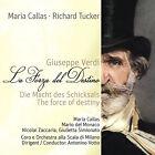 CD Maria Callas La Forza Del Destino, La Fait de Schicksals de Verdi 2CDs
