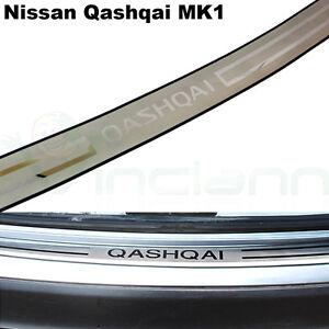 Protezione-soglia-baule-auto-profilo-acciaio-portabagagli-per-Nissan-Qashqai-MK1