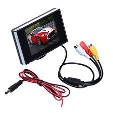 "DC12V 3.5"" TFT LCD Color 640X480 Resolution Screen Car Rear View Monitor DVD DVR"