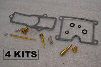 4x Kawasaki 80-83 Kz550 Gpz550 Carburetor Carb Rebuild Kit - 4 Kits