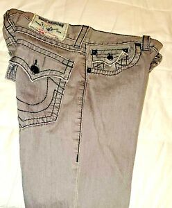 True Religion Jeans Ajustado Para Hombre Talla 32 Ebay