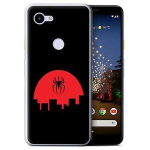 Gel-TPU-Case-for-Google-Pixel-3a-Minimalist-Movie-Art-Spider-Inspired