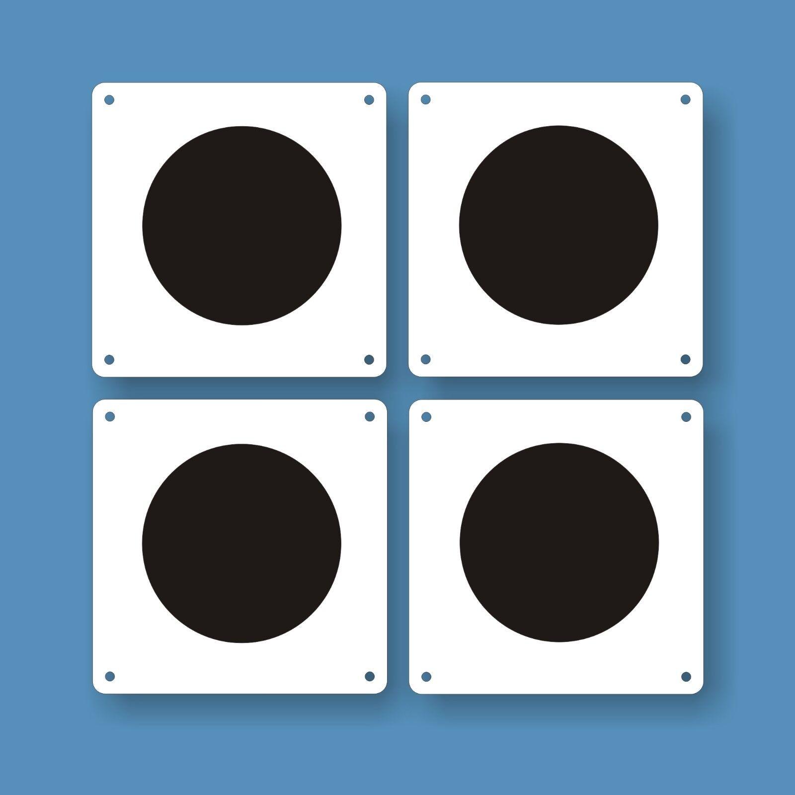 4 zirkelpunkte (30 x 30 cm) para  dressurviereck, de alta calidad aluverbundtafeln  precios ultra bajos