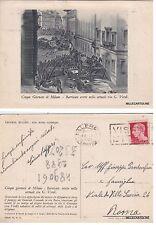 # MILANO: LE CINQUE GIORNATE - BARRICATE ERETTE BELLA ATTUALE G. VERDI  1939