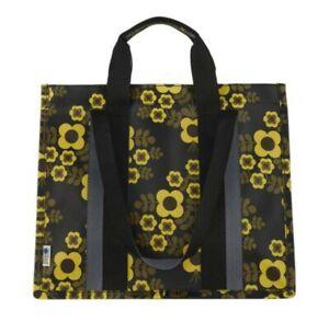 Orla Kiely Shopper Tasche Vorbau gelb Bouquet Print Jasmin Voltaire Blumen Irish