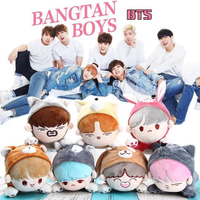 Kpop BTS BANGTAN BOYS Jung Kook V Kim Tae Hyung Plush Doll Clothes Be