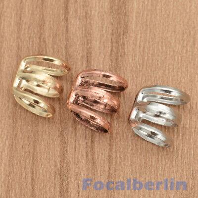 Mehrfarbig Verstellbar Frauen Dreadlock Perlen Cuffs Clips Haarschmuck 20 Stk