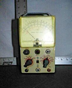 Vintage-Heathkit-Vacuum-Tube-Model-V-5-Voltmeter-by-Simpson-Elec-Co