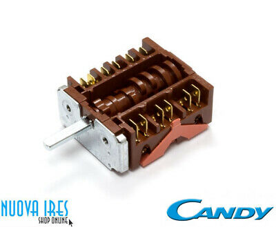 COMMUTATORE FORNO CANDY 91201702 D057117