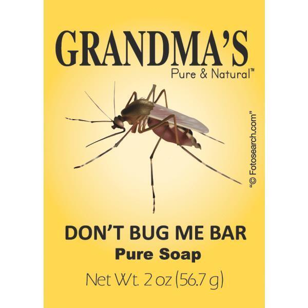 12pk Grandma's Don't Bug Me Bar Soap All Natural Insect Repellent Mosquito Gnat