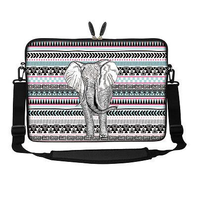 "15/"" 15.6/"" Laptop Notebook Computer Sleeve Case Bag w Hidden Handle 3107"