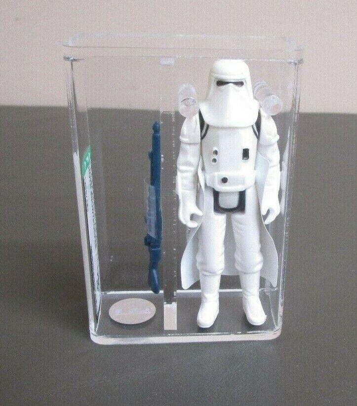 Hoth Snowtrooper 1980 figura de acción de la guerra de las galaxias calificado autoridad U80+ casi nuevo Hong Kong Coo JJ