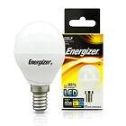 2 X Energizer 5.9w 40w LED Ses E14 Small Screw Cap Energy Saving Light Golf Bulb