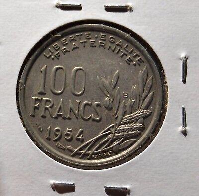 1954 1955 France 100 Francs