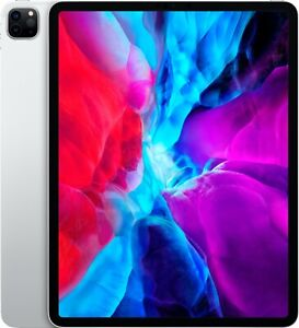 NEW Apple iPad Pro 4th Gen 2020, 128GB, Wi-Fi, Cellular 12.9 in Silver MY3K2LL/A