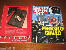 AUTOSPRINT 1985/44=NIGEL MANSELL=NELSON PIQUET=PERISSINOT=MAURO NESTI RE=