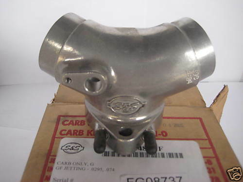 S /& S INTAKE MANIFOLD AMERICAN IRONHORSE PART NUMBER 16-2581-S NEW!!