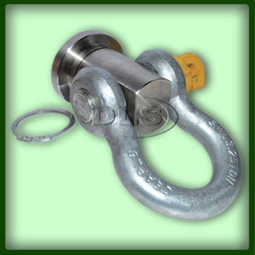 DA3160 LAND ROVER STAINLESS STEEL SWIVEL RECOVERY EYE 36mm AND SHACKLE 3.25t