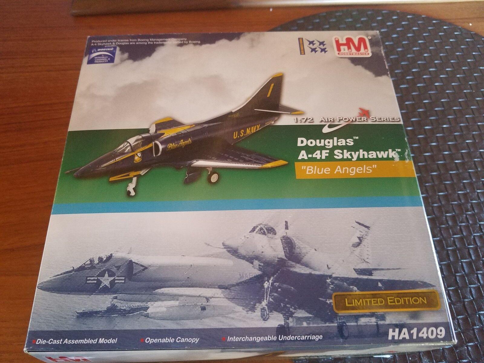 Hobby Master 1/72 Air Power Series HA1409 Douglas A- 4F, USN blu Angels Aerobat