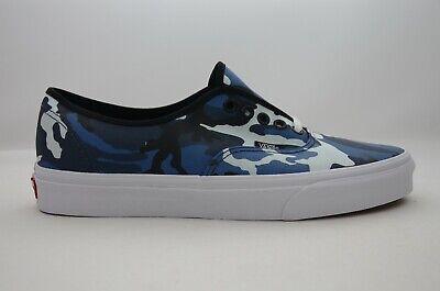 Vans Authentic (Pop Camo) Black/Blue