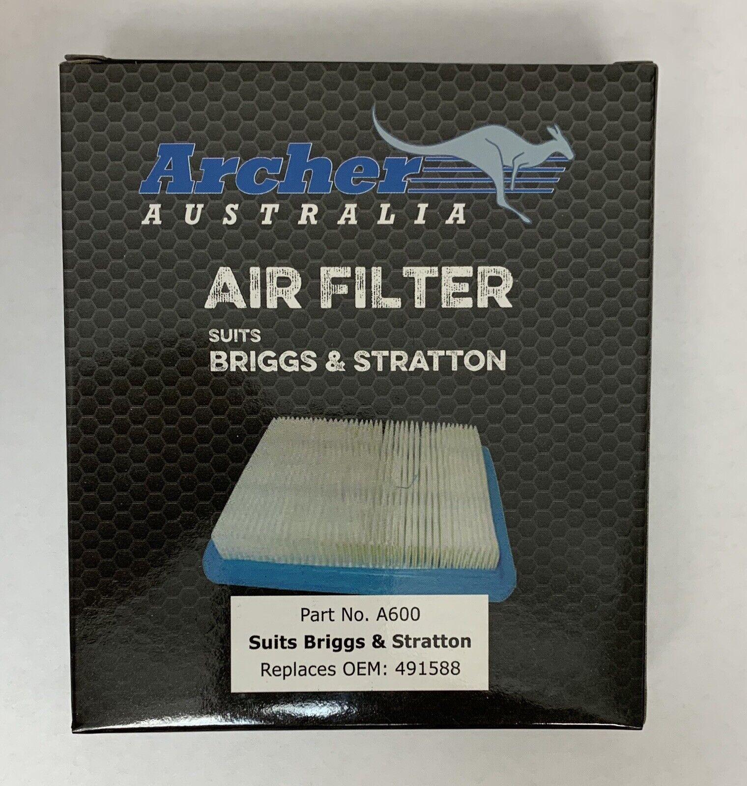 Paquete De 100 Filtros De Aire Reemplaza Briggs Stratton 399959 4915 88S mejor & hecho Filtro