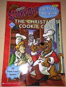 Hello-Reader-Level-1-Scooby-Doo-The-Christmas-Cooke-Case-Paperback-2003