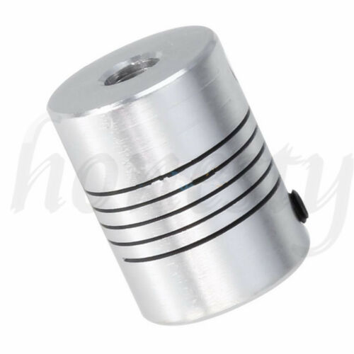5//6//6.35//8mm acoplamiento flexible rígida para Conector Acoplador motor cnc