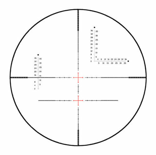 Visionking 2.5-35x56 Rifle Scope Mil-dot Military Special Reticle Tactical Sight