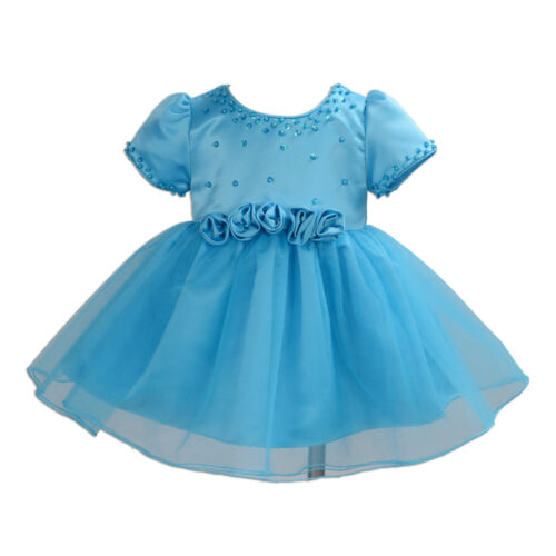 Lila Marfil Nuevo Fiesta Dama de Honor Vestidos para Niña Boda Blanco Azul,