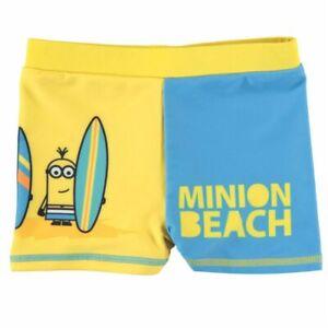 Minions-enfants-Swim-Pantalon-Trunk-Garcons-Respirant-13-ans-B251-17