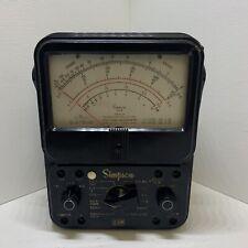 Simpson 260 Series 6p Analog Volt Ohm Milliammeter Vom Multi Meter Untestedd