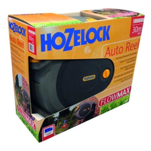 Hozelock Auto Reel Automatischer Schlauchaufroller 40 m Anti-Knick Schlauch