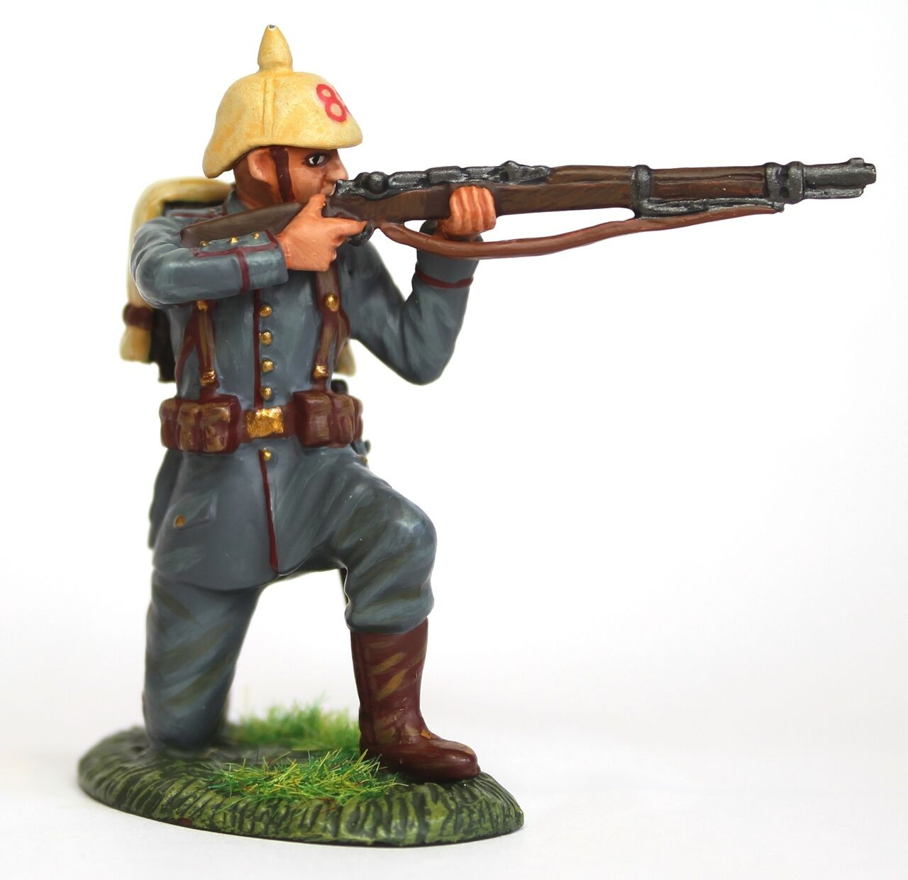 Empire Miniatures WW1 W1-1426 German 84th - 85th Infantry Kneeling Firing No. 1