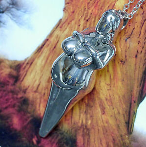 Amulett Fruchtbarkeitsgöttin 935 Silber Göttin Epona Römer Gallier Kelten