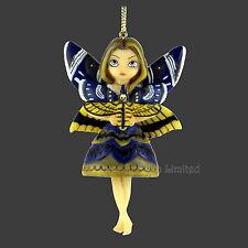 *MOTH QUEEN* Strangeling Art Fairy Hanging Figurine By Jasmine Becket-Griffith