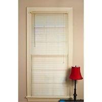 Mainstays Room Darkening Mini Blinds 32 W X 64 L Off-white -
