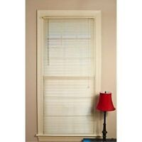 Mainstays Room Darkening Mini Blinds 32 W X 64 L Off-white -