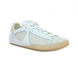 Details about Alexander McQueen by PUMA McQ CLIMB LO Mens Fashion White Leather Sneaker Shoe