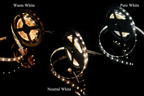 High Quality LED Strip Light Warm//Pure//Neutral White CRI RA 80 5630 12V//24V DC