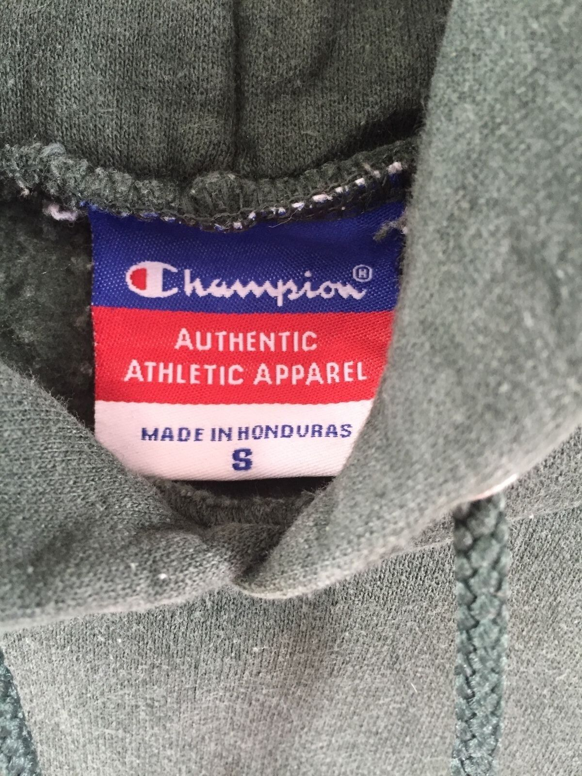 CHAMPION VINTAGE RETRO USA BOLD GREEN SWEATSHIRT SWEATER HOODIE WOMENS WOMENS WOMENS SMALL 8927e4
