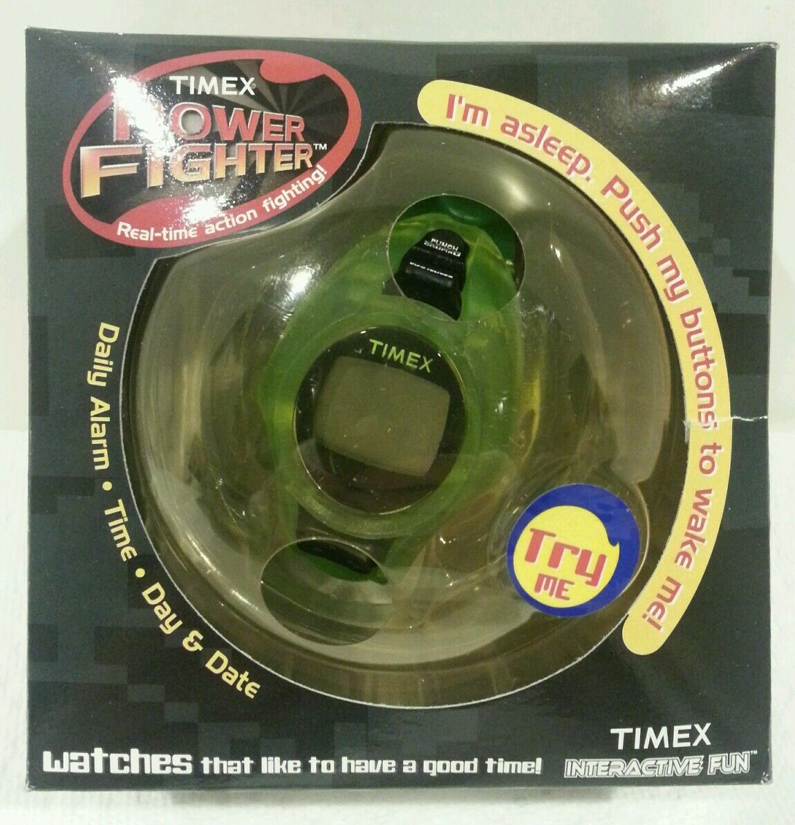 NEW SEALED Timex Power Fighter interactive watch - Collectors Dream -ULTRA RARE