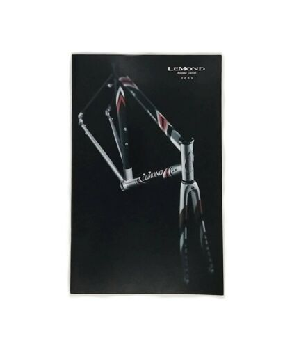 LeMond Racing Cycles Bicycle Catalog 2003