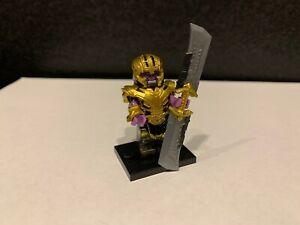 MARVEL Custom Lego Compatible Mini figure IRON MAN !UK STOCK!