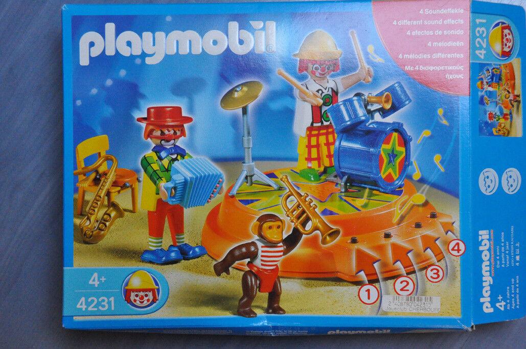 Playmobil - 4231 Orchestre  De Cirque  Style classique