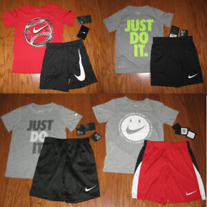 Nike Boys 2-Piece Shorts Set Outfit