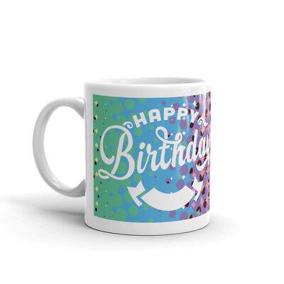 Happy 18th Birthday Multicoloured Mug in Presentation Box