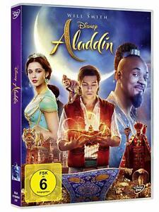 Aladdin (Real trasposizione sullo schermo di 2019) [DVD/Nuovo/Scatola Originale] WALT DISNEY con Will Smith, mena