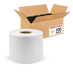 100-Rolls-of-30256-Compatible-Shipping-Labels-for-DYMO-2-5-16-034-x-4-034